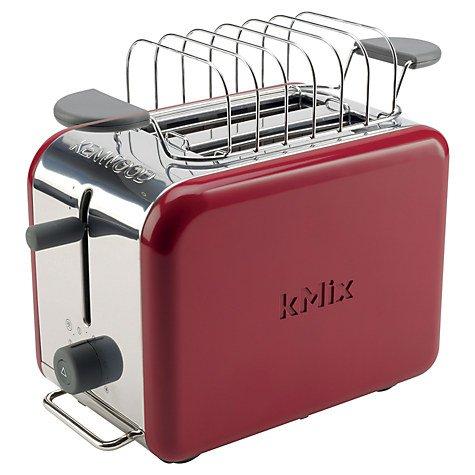 Red Kenwood Kmix Toaster and Warming Rack £29.95 - £2 c&c @ John Lewis was £49.95