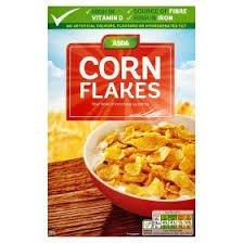 'Asda Cornflakes 500g' 50p Asda instore