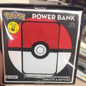 Pokemon Power Bank. Portable charger. 5000mah £5 @ Tesco - Chadderton