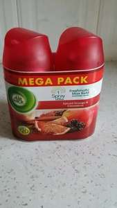 Twin pack £3.50 ., at Wilkos. Only 'Spiced Orange & Cinnamon.