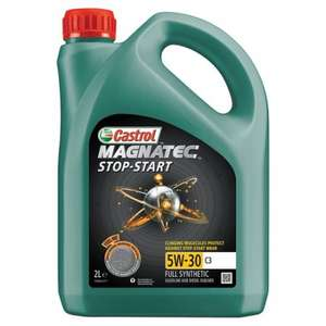 Castrol Magnatec 5W-30C2,C3 and 10W-40 2L HALF PRICE £9 @ Tesco instore and online