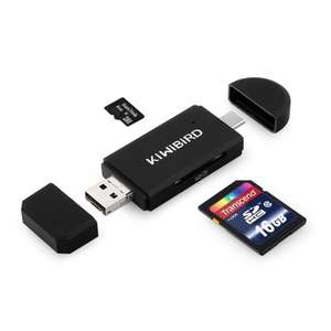 Multi use USB card reader  £7.19 prime / £11.18 non prime - Amazon lightning deal