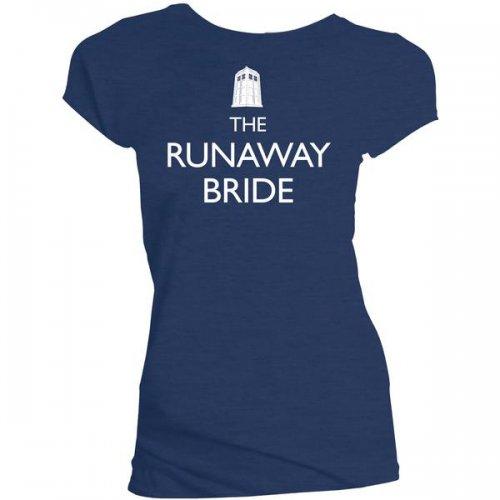 Doctor Who: The Runaway Bride Women's Medium T-Shirt 99p + £1 Del  = £1.99 @ Forbidden Planet