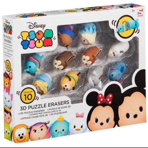 Disney Tsum Tsum Puzzle Eraser 10 Pack Was £10.00 Now £2.50 Instore @ Tesco (Mayflower)