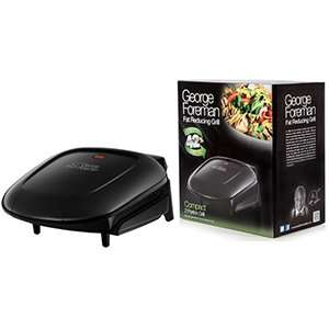 George Foreman: Compact 2 Portion Fat Reducing Grill Delivered @ Homebargains