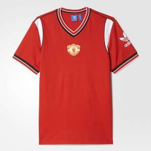 1985 Manchester United Adidas shirts half price plus an extra 20% off - £19.18 at Adidas online (with code)