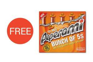 Peperami Tex Mex 5 pack, 125g & 4 Pack Yeo Bio Yoghurt - Both Free With CheckOutSmart App (Purchase Required) @Tesco