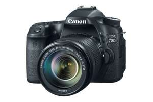 Canon EOS 70D Camera - Black (20.2MP, 18-135mm IS STM Lens) £599.00 @ Clearance Bargain Center - Stanley