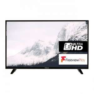 "Finlux 49"" 4k Ultra HD LED Smart TV £229 delivered Sold by Finlux Direct and Fulfilled by Amazon."