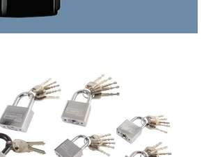 POWERFIX Padlocks or Steel Cable Lidl