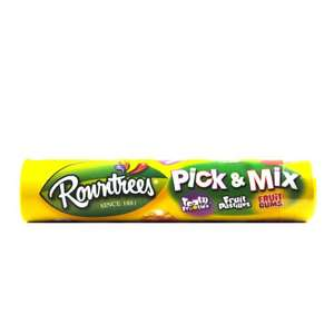 Rowntrees Pick & Mix Tube 140g, reduced from £1.00 to £0.49 at B&M