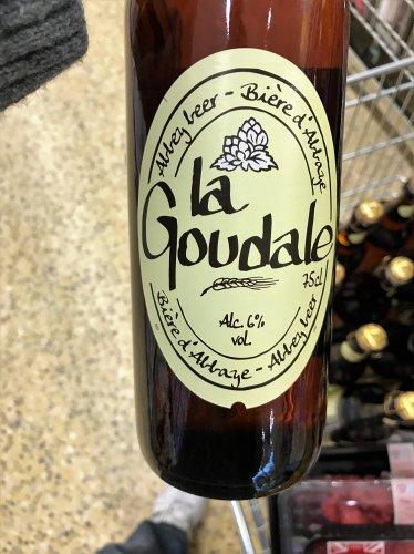 6% La Goudale Abbey Beer - 750ml bottles down to £1 (originally £2.49)