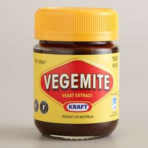 Vegemite 220g 98p at Ocado - was £1.97 but half price for deliveries until 31st Jan