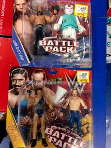 Lots of WWE figures for £3 (including tag teams & Elite) @ Smyths