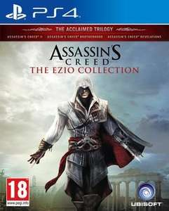 Assassin's Creed The Ezio Collection (PS4) £24.99 @ GAME (AC2, AC Brotherhood and AC Revelations Remastered)