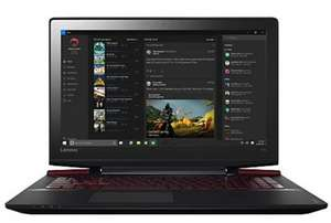 "Lenovo Ideapad Y700 Gaming Laptop, Intel Core i7, 16GB RAM, 1TB HDD + 128GB SSD, 15.6"" Ultra HD (4K), Black  @ John Lewis + 2 Year Warranty - £849.95"