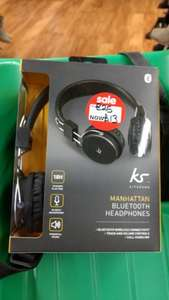Kitsound Manhattan Bluetooth Headphones - £13 Asda in store