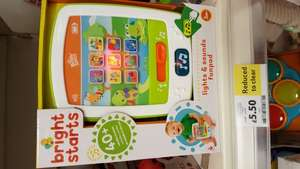 Baby fun pad bright starts £5.50 tesco stevenage instore