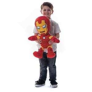 Marvel Iron Man XL - soft toy £9.90 @ Debenhams (+ £2 C+C for orders under £20)