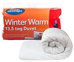 Silentnight Winter Nights 13.5 tog dbl duvet £12.50 instore at sainsburys stanway