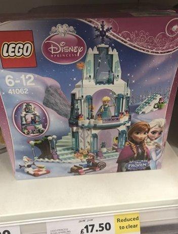 Disney Princess Frozen Lego Elsa castle £17.50 instore @ Tesco (Haydock)