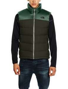 North Face Nuptse 2 Vest/Gilet XL in Green £78 at Amazon