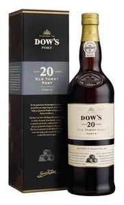 Dow's 20 year old tawny port 750ml £9.99 at Iceland