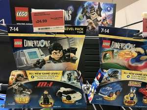 Lego Dimensions Packs BOGOF @ Sainsbury's