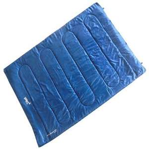 Sleeping bag double 200gsm £10 plus £4.99 delivery @ Gelert