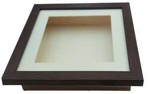 3D Shadow Box Deep Picture Frame Display Case 16x20 walnut £1 @ Ebay / The Frame Centre (poss misprice)