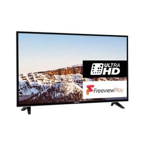 Finlux 49 Inch Ultra HD Freeview Play LED Smart TV £229 + £4.99 Del @ Amazon (Dispatched from and sold by Finlux Direct.)