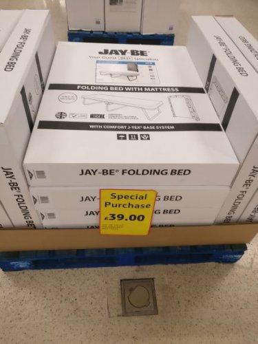 JAY-BEE folding bed £39 seen in Tesco Fforestfach Swansea