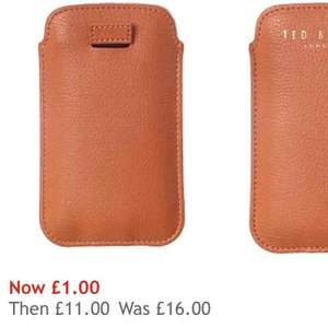 Ted Baker IPhone Case £1 @ House of fraser (Iphone)