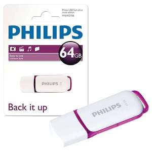 7DayShop - Philips 64GB memory stick @ £10.69 - 2 for £10.46 each