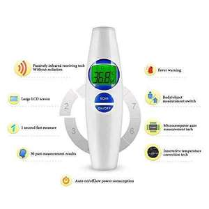 Digital Baby Thermometer Meyoung Medical Non Contact Infrared Forehead Thermometer Dual Model Object & Body Temperature Thermometers for Baby, Infant, Kid, Adult, Bath, Milk, Room with Fever Alarm £18.39 [lightning deal] Amazon