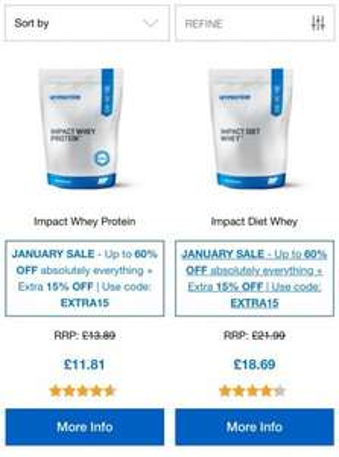 Myprotein biggggggg sale!
