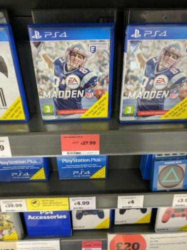 Madden 17 PS4 £27.99 @ Sainsburys