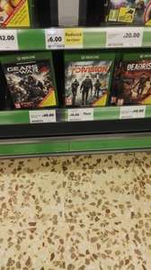 Minecraft Xbox One Tesco in-store only 6.00
