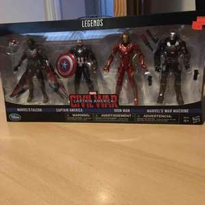 Captain America Civil Legends Figurines £19.99 @ Disney Store
