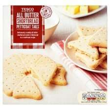All Butter Shortbread Petticoat Tails - 450g - Tesco (INSTORE) - 50p