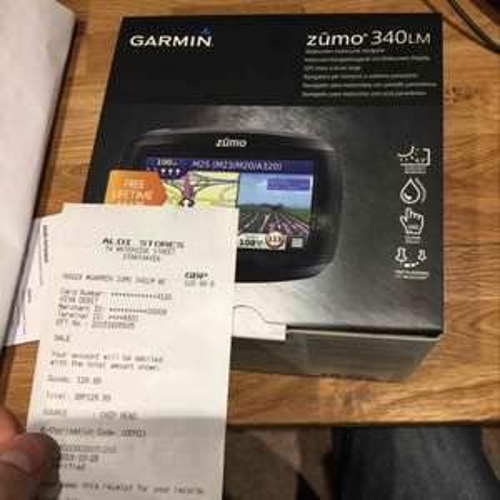 Garmin Zūmo 340LM MOTORCYCLE GPS £129.99 @ Aldi