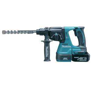 MAKITA DHR242RF 18V Cordless li ion SDS Plus Brushless 3 Mode Rotary Hammer Drill 24mm 1 x 3Ah Battery £274.97 @ Amazon