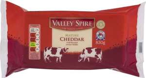 Valley Spire Mature Cheddar Cheese 830g - £1.99 @ Lidl