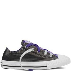 Kids Chuck Taylor All Star Loopholes Slip Yth/Jr rrp £35 @Converse - £8.49 & £5.50 P&P