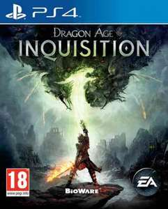 Dragon age inquisition (PS4) £8 used @ playtime