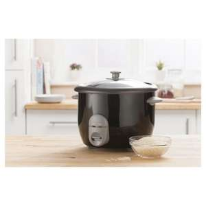 Tesco electric rice cooker 1.5 litre £15 free c&c @ Tesco
