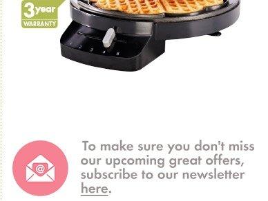 food processor £14.99 waffle maker £9.99 @ Lidl
