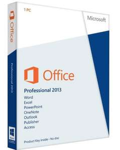 Microsoft Office 2013 Professional Plus - £6.99 - eBay/Mega.Computer (or, from £3.69)