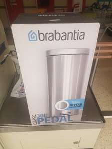 Brabantia 30 Litre bin....was £35 now £3.50 RTC instore @ Tesco