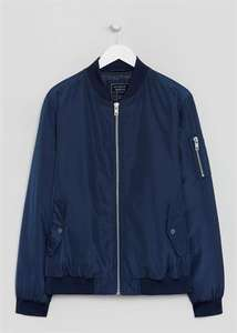 Bomber Jacket. Navy, Sizes S/M/L/XL/XXL. Was £25 Now £13. Free C&C @ Matalan